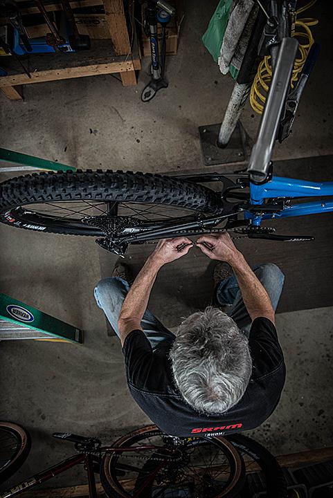Doug Installing Chain