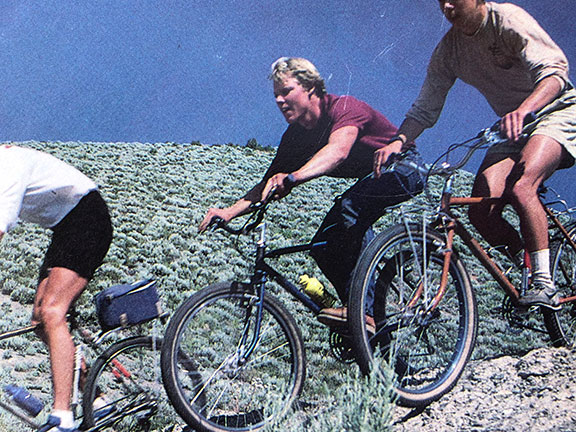 1981: First mountain bike frames and forks emerge.