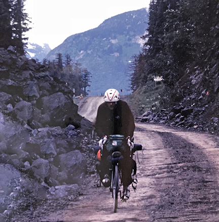 1981:  A trip to Alaska brings fat tired bikes into focus.